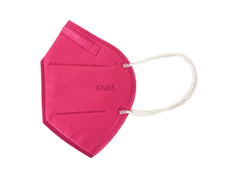 ماسک 5 لایه استاندارد KN95 (بسته 10 تایی سرخابی)