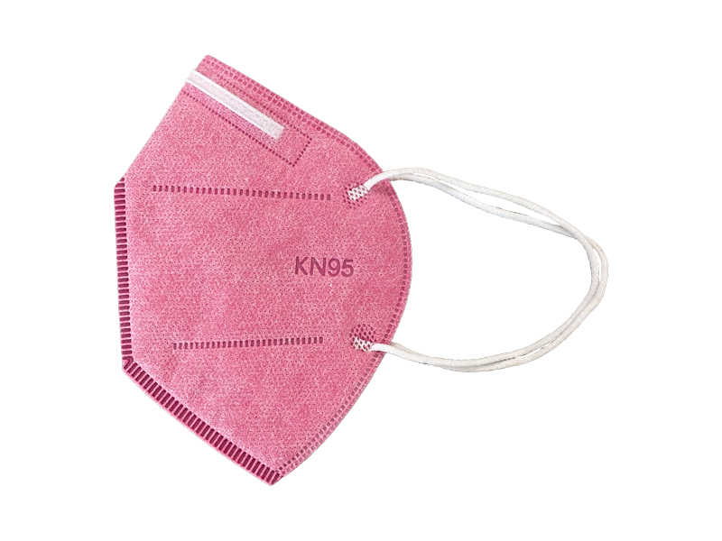 ماسک 5 لایه استاندارد KN95 (بسته 10 تایی صورتی)