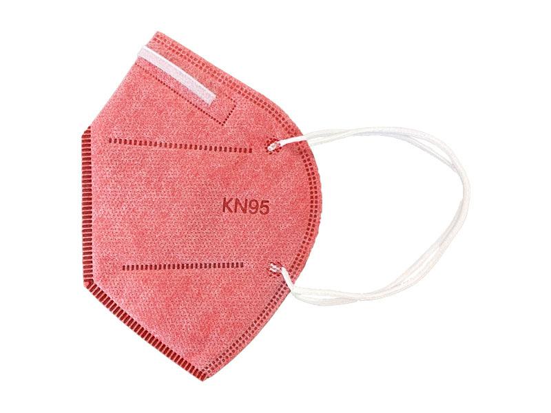 ماسک 5 لایه استاندارد KN95 (بسته 10 تایی گلبهی)