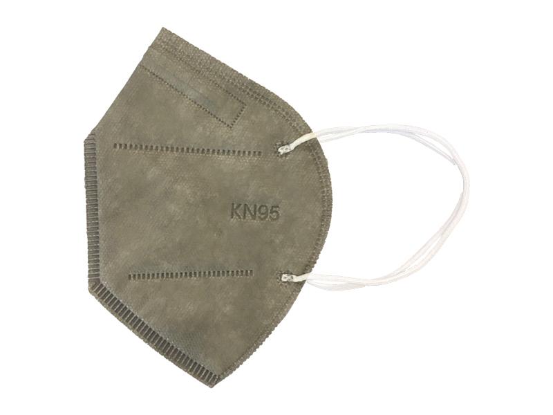 ماسک 5 لایه استاندارد KN95 (بسته 10 تایی طوسی)