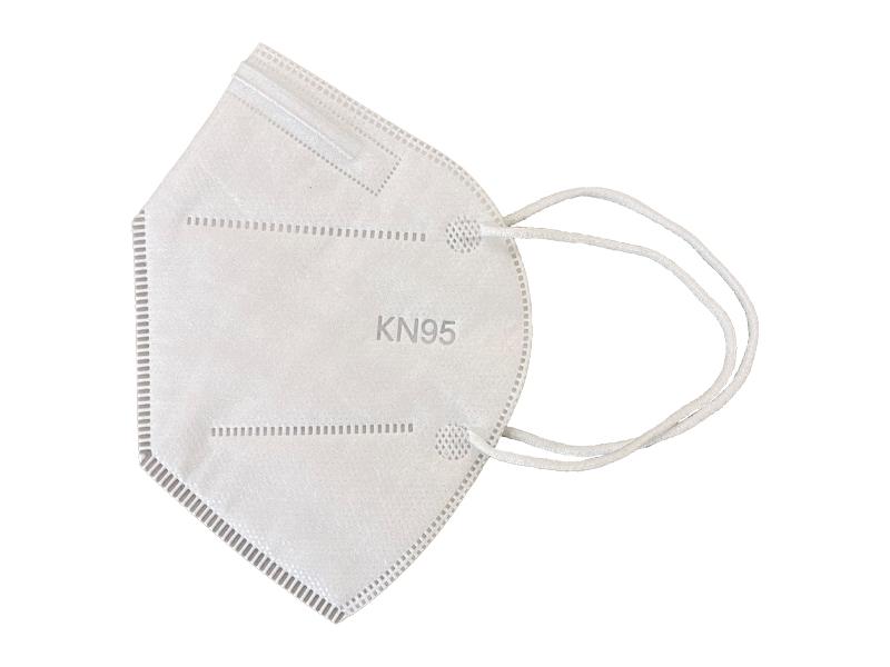 ماسک 5 لایه استاندارد KN95 (بسته 10 تایی سفید)