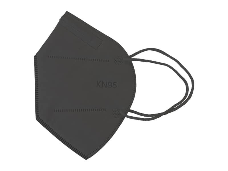 ماسک 5 لایه استاندارد KN95 (مشکی بسته 10 تایی)