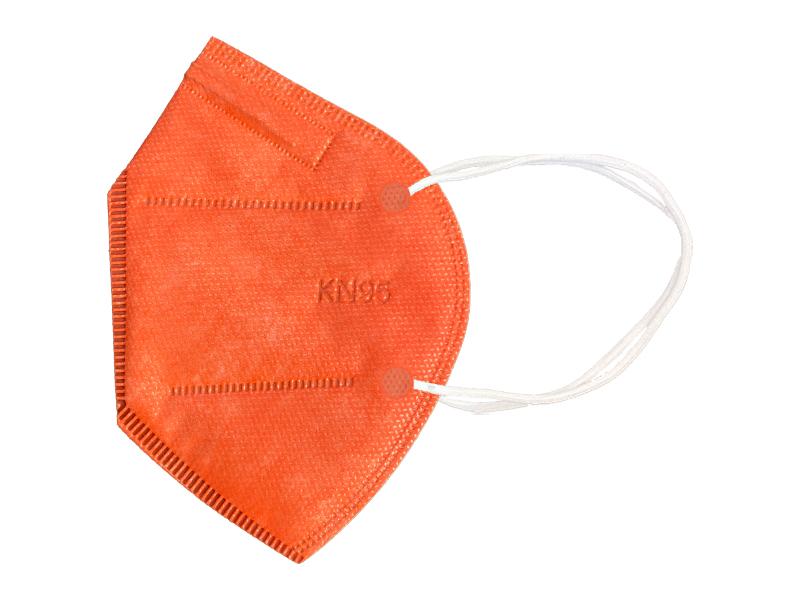 ماسک 5 لایه استاندارد KN95 (بسته 10 تایی نارنجی)