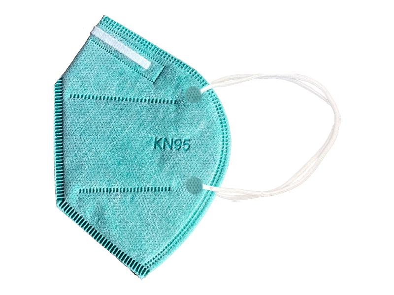 ماسک 5 لایه استاندارد KN95 (بسته 10 تایی سبز روشن)