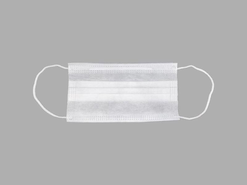 ماسک سه لایه سفید پزشکی استاندارد(50 عددی)