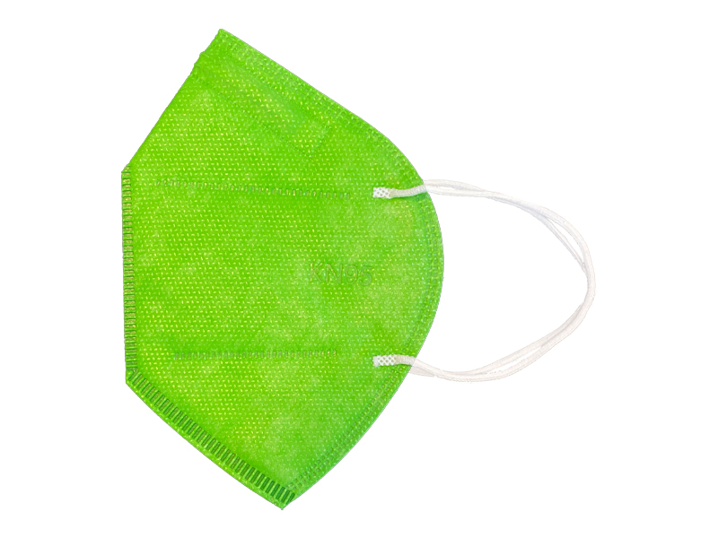ماسک 5 لایه استاندارد KN95 (بسته 10 تایی سبز فسفری)